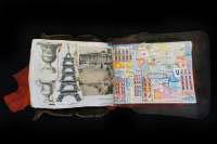 Carnet de voyage PARIS FRANCE by Chayan Khoi
